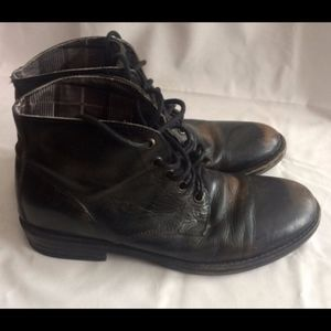 mens chukka Bed Stu distressed combat boots 8.5